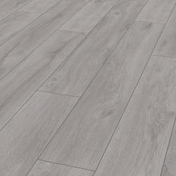 Parquet sol Premium gris Robusto - stratifié chêne - certifié FSC AC5