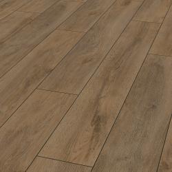 Parquet sol Premium brun Robusto - stratifié chêne - certifié FSC AC5