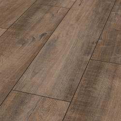 Parquet en sol stratifié Brun Gala Exquisit Plus - Sol stratifié parquet chêne - certifié FSC AC4