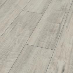 Parquet en sol stratifié Blanc Gala Exquisit Plus - Sol stratifié parquet chêne - certifié FSC AC4