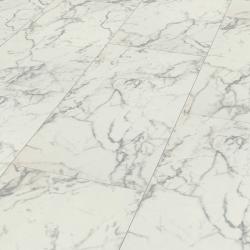 sol en pierre Marbre de carrare - Sol stratifié pierre - certifié FSC détail