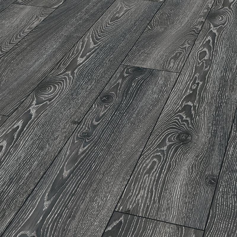Highland noir Mammut - sol stratifié parquet chêne - certifié FSC