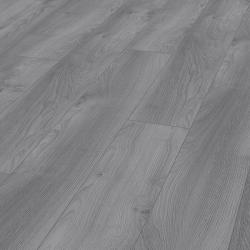 Macro gris clair Mammut - sol stratifié parquet chêne - certifié FSC AC5