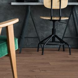 Atlas Café Robusto - Sol stratifié parquet chêne - certifié FSC zoom